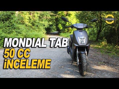 Mondial Tab 50cc İnceleme