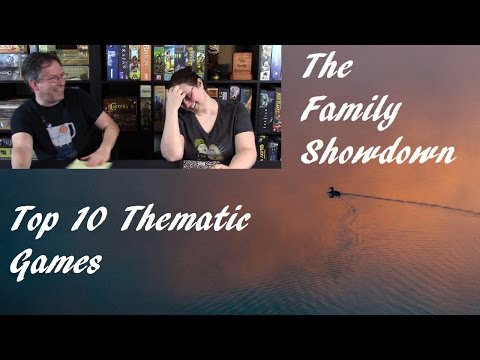 Top 10 Thematic Board Games