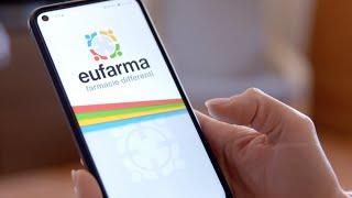 Nuova App Eufarma - I tuoi Farmaci a Domicilio