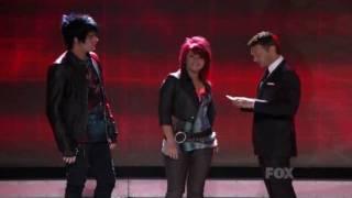 Adam Lambert-American Idol Top 9 (group performance+night results)