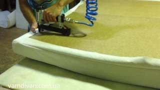 видео Как сделать мягкую спинку кровати своими руками?