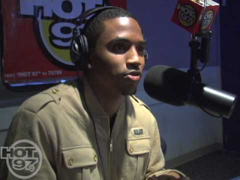 Angie Martinez Interviews Trey Songz