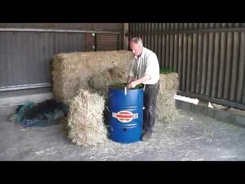 How to fill a hay net