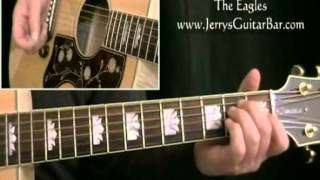 How To Play Peaceful Easy Feeling (introduction only)