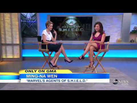 MingNa Wen en Good Morning America