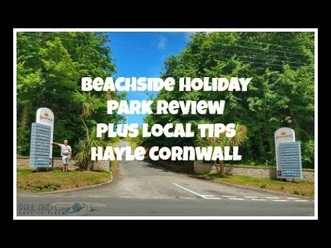 Camping In Cornwall - Beachside Holiday Park - Full Tour Of The Campsite And Local Area