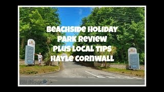 Beachside Holiday Park - full tour of the campsite and local area