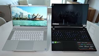 Aero 15 OLED vs Razer Blade 15 240Hz - ULTIMATE BATTLE!!
