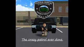 Roblox | FBI City Patrol | Raddleton City