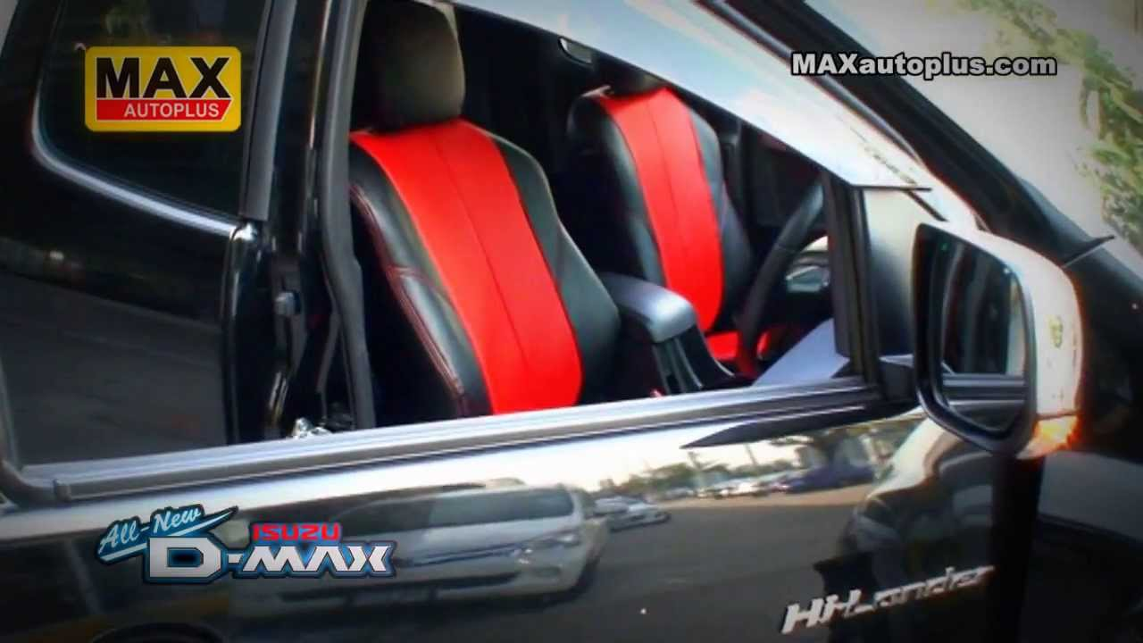 ISUZU D MAX ALL NEW V Cross 2013 Leather Seats Cover