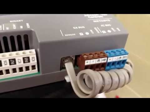 Upgrading Johnson Controls N2 Devices With Newer Generation FEC Controllers