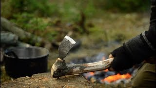 MAKING A AFRICAN STYLE HOE - BLACKSMITHING