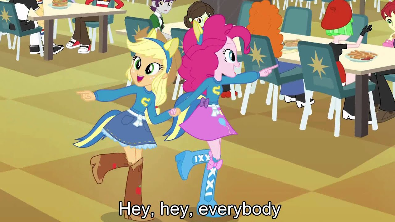 Equestria Girls With Lyrics My Little Pony Equestria