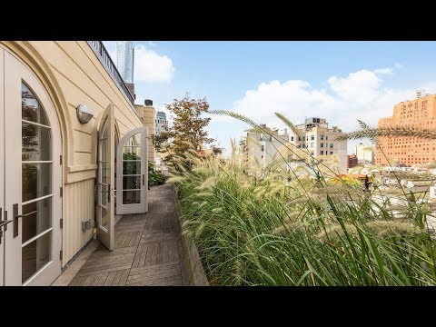 NYC APARTMENT TOUR: Tribeca Penthouse with TONS of Outdoor Space