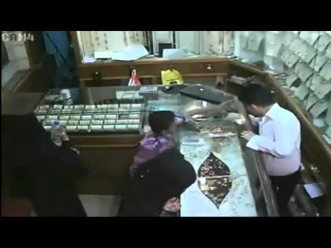 Saudi Arabia Live Jewellery Theft Caught by camera