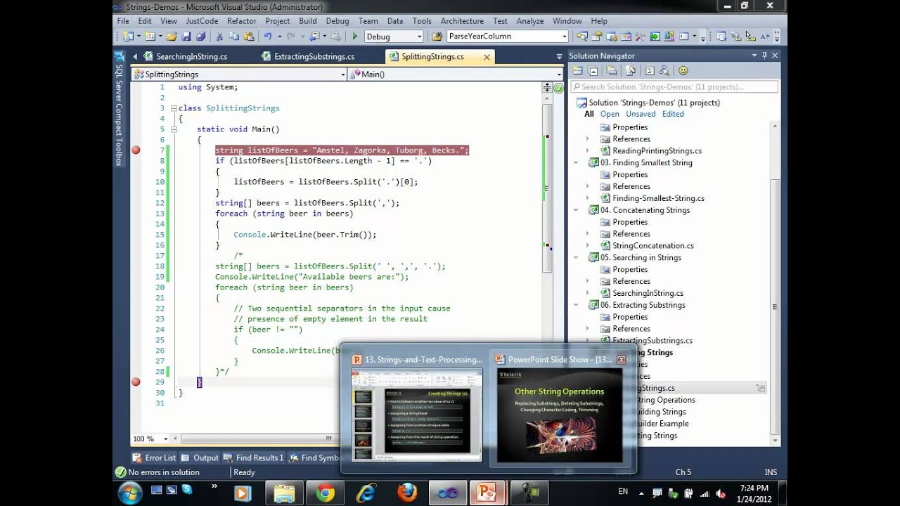 Introduction to Programming with C# / Java Books » Chapter