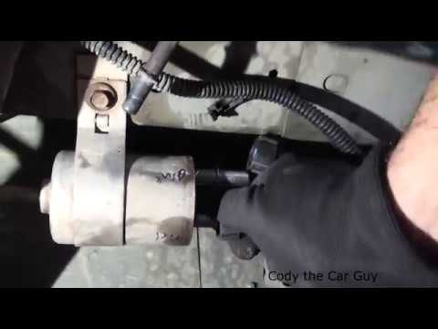Chevy Cobalt Fuel filter location and replacet simple and easy ...