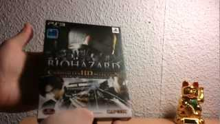 Biohazard Chronicles HD Selection - Limited Edition (PS3) unboxing [German/Deutsch]