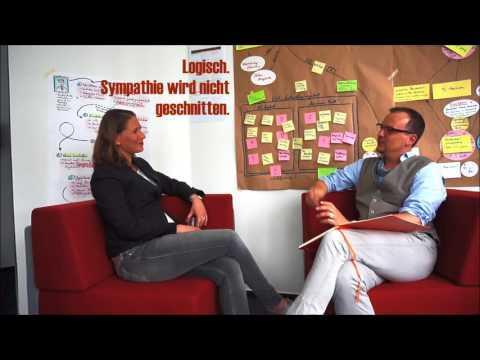 Erster Arbeitstag bei EOS - Sylke Sergel im Interview zum interaktiven Video