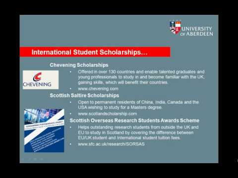 Finance and Funding for International Students