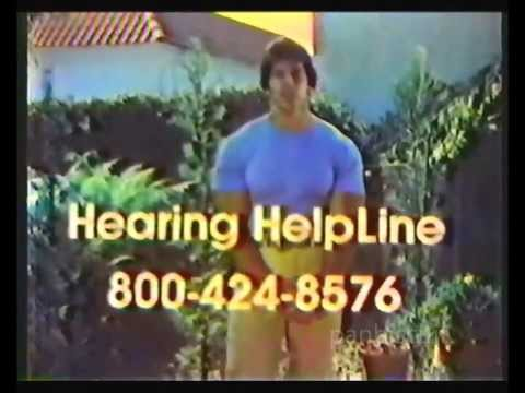 Hearing HelpLine with Lou Ferrigno PSA (1981)