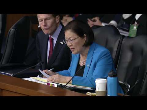 Senator Hirono Grills Gorsuch Over Refusal to Answer Direct Questions