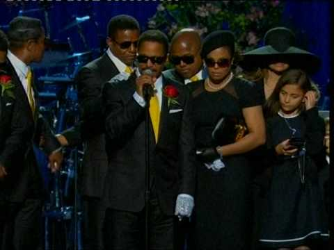 Michael Jackson Memorial END