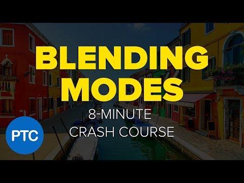 Photoshop BLENDING MODES - 8-Minute CRASH COURSE!