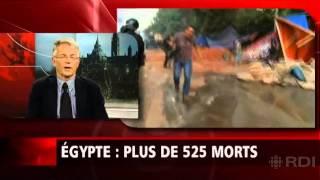 ferry de kerckhove et la situation après l'assaut de l'armée égyptienne contre les pro-morsi
