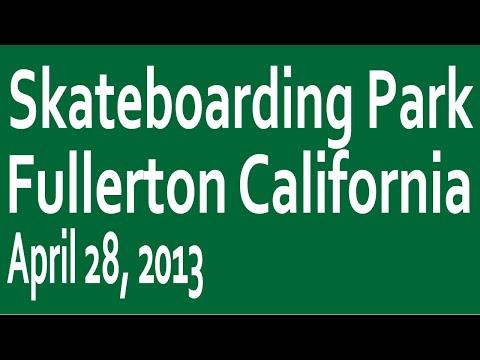 Skateboarding Park 008: Fullerton California