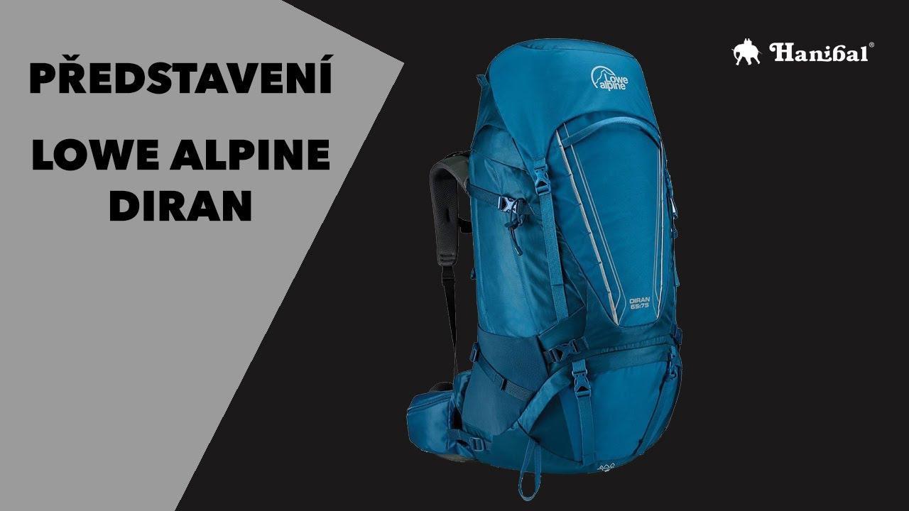 calitate autentică pantofi de alergat pret ieftin Představení Lowe Alpine Diran | Hanibal.cz - YouTube