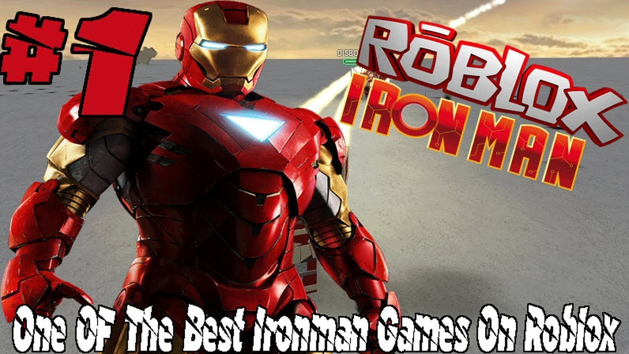 One Of The Best Ironman Games On Roblox Roblox Avengers Testing