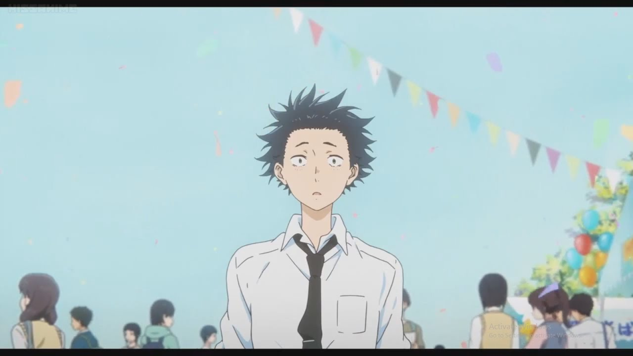 Download A Silent Voice ending scene Full HD
