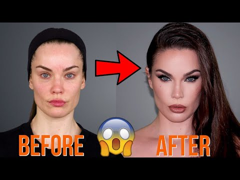 90S SUPERMODEL MAKEUP TRANSFORMATION | PELIN TEKDAL thumbnail