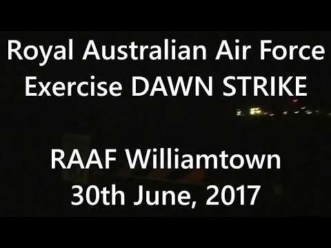 RAAF F/A-18 Hornet & Super Hornet   DAWN...