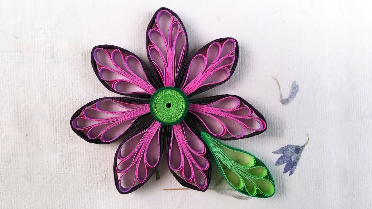 Paper-Quilling Comb Techniques, Shapes and Designs
