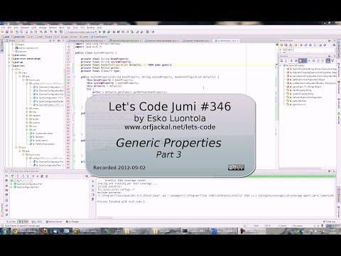 Let's Code Jumi #346: Generic Properties (Part 3)