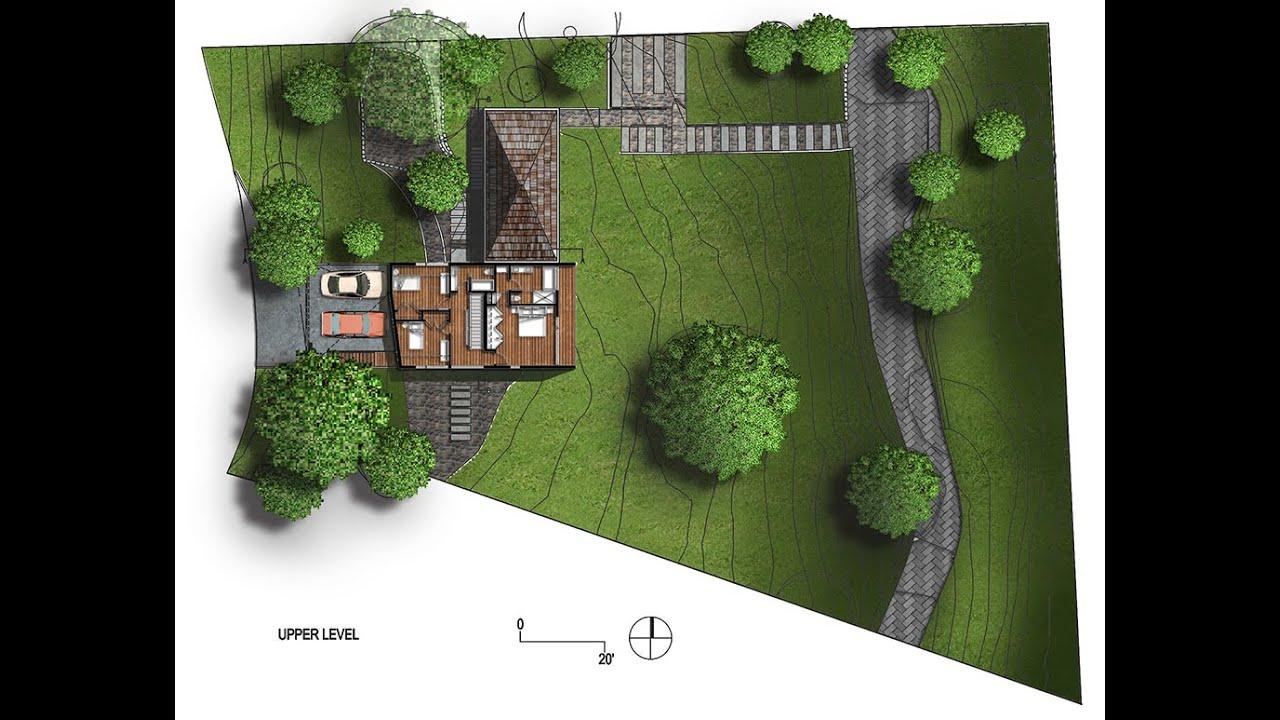 Đổ mặt bằng kiến trúc – quy hoạch pattern: Photoshop kiến trúc