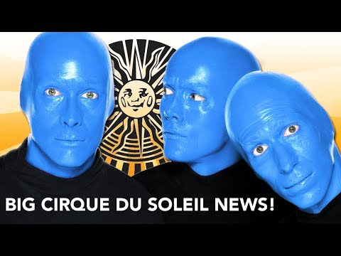 BIG NEWS FROM CIRQUE DU SOLEIL!