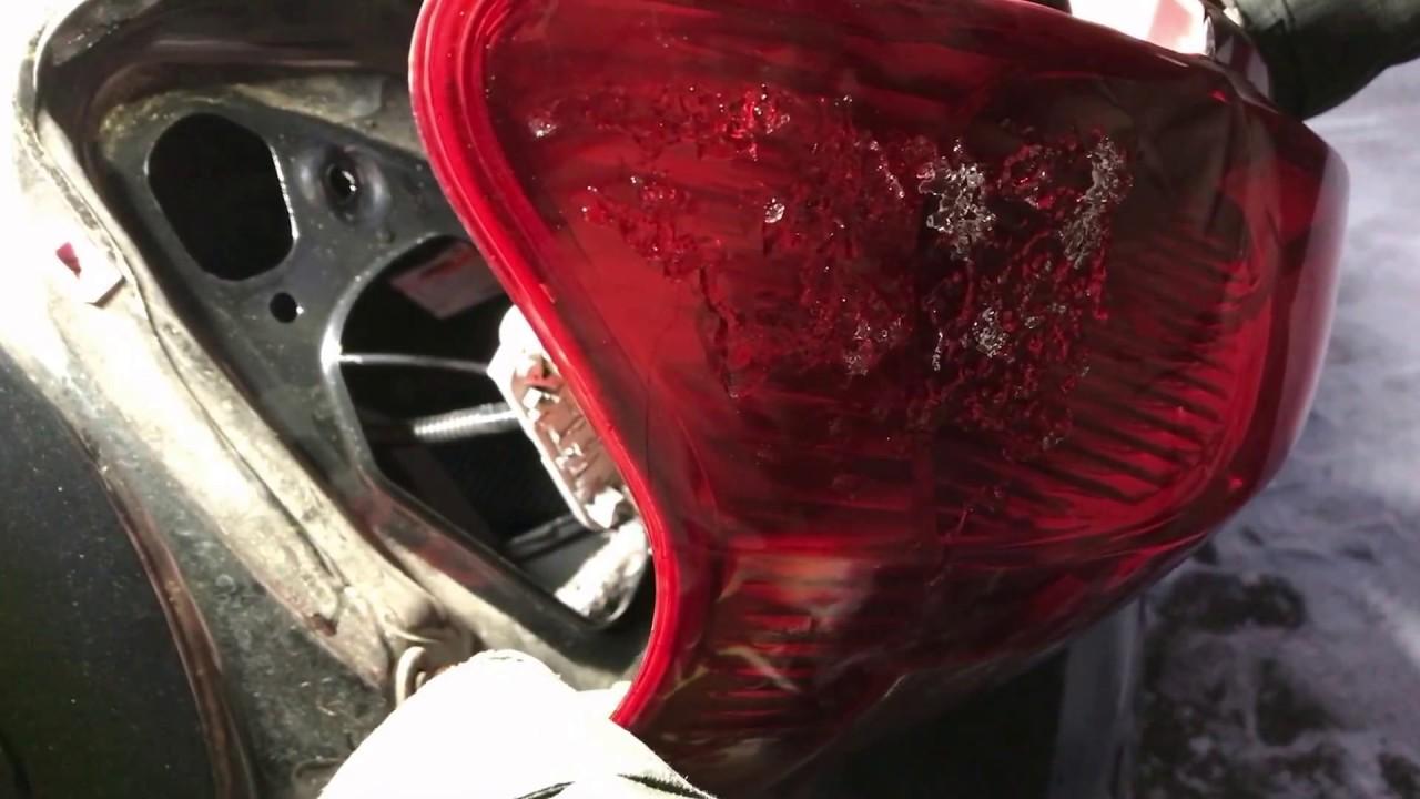Lampen Toyota Auris : Toyota yaris xp schlusslicht wechseln change rear light youtube