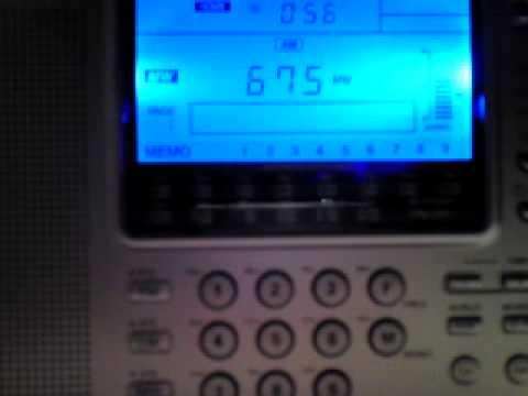 Free Libya Radio Benghazi 675 KHz received in Hungary راديو بنغازي