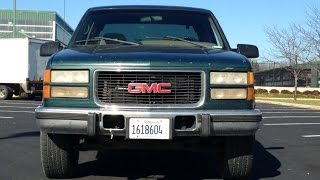 1995 Chevy GMC 6 5 Diesel 4X4 Auto Excab Short Bed Pickup Truck 4 Sale! $1950