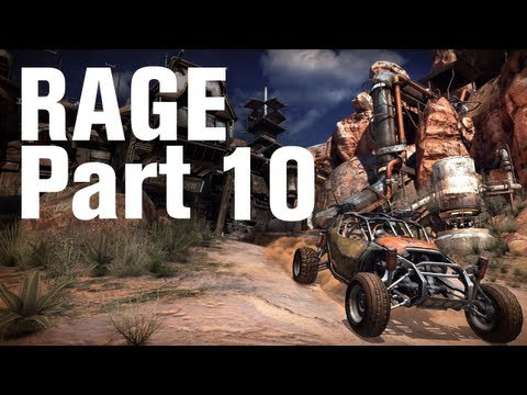 RAGE Walkthrough Part 10 - Renting a Garage and Arming Your Buggy