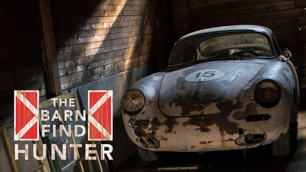 Porsche 356 Hidden In The Rocky Mountains