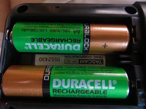 Мой отзыв об аккумуляторах Duracell HR6-2BL 1300mAh
