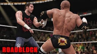 WWE Roadblock 2016 - Triple H vs Dean Ambrose WWE World Heavyweight Championship Match!