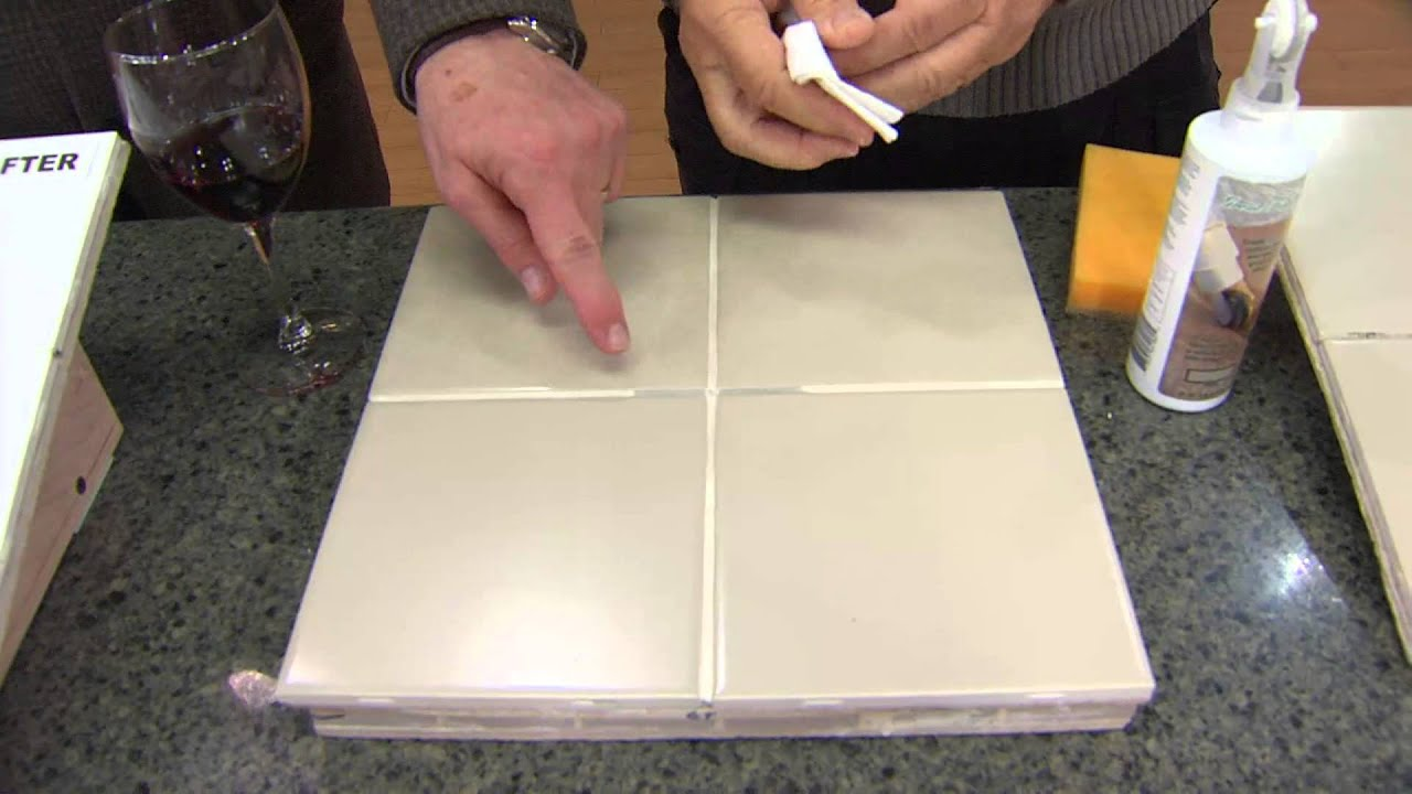 Grout Finish Tile and Stone Finish and Sealer for Grout Joints with ...
