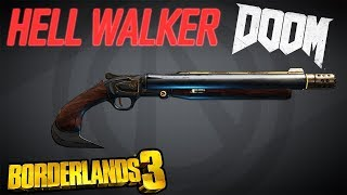 HELLWALKER (Doom Shotgun) - Borderlands 3: Legendary Weapon
