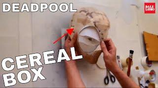 #92: Deadpool Semi-rigid Mask Diy Part 1 - Cereal Box (free Template)