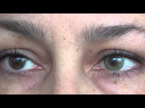 Italian contact lens beautiful 8 colors ... JoLens Review HD sunlight